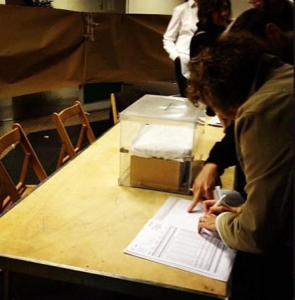 trabajo elecciones